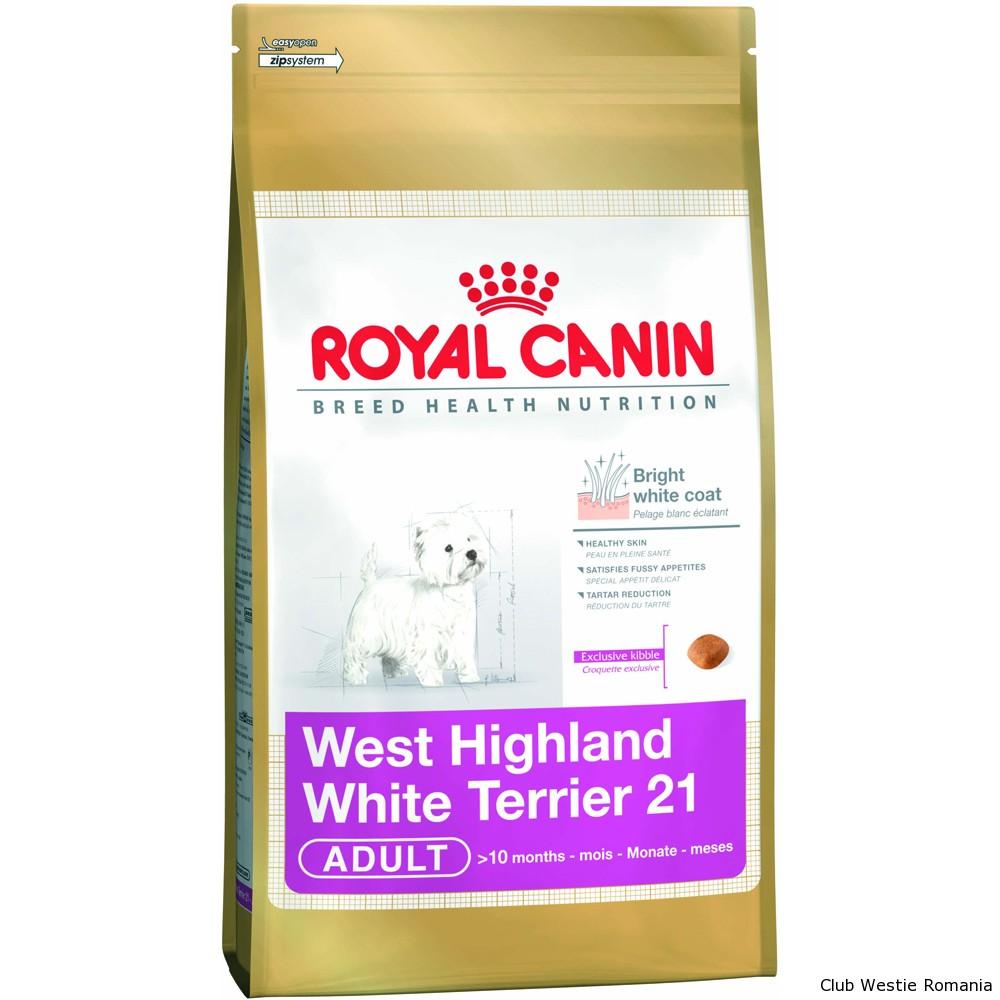 Hrana pentru Caini Royal Canin Westie