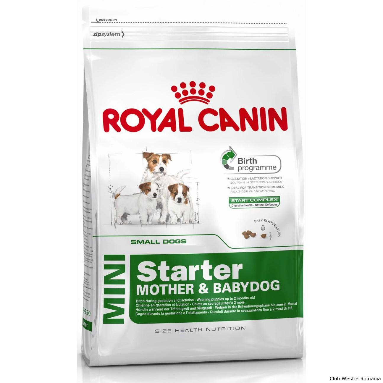 Hrana pentru Caini Royal Canin SHN Mini Starter MB, 3Kg