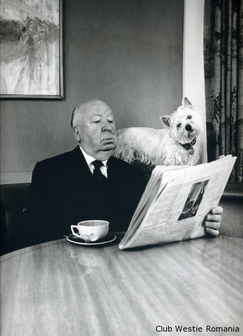 Alfred Hitchcock & Sarah