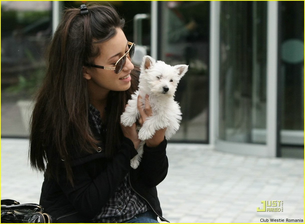 Christian Serratos & Bolt